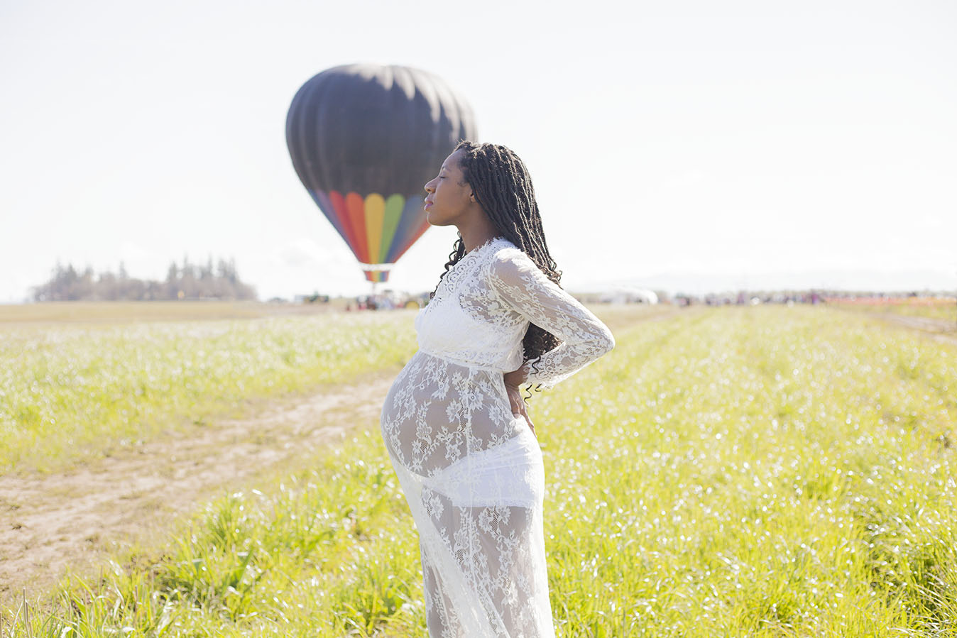 dc66ec5efa47f romantic maternity photography hot air balloon - Beating Hearts ...