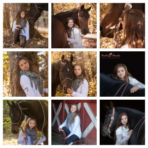 Senior Equine Photography - Turner Oregon