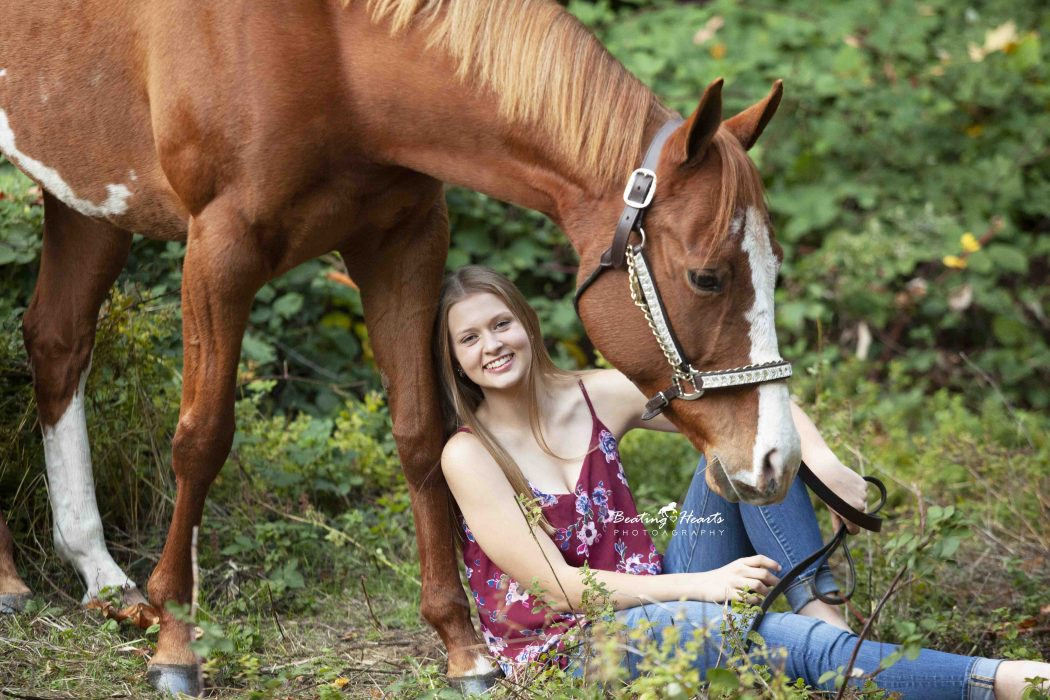equine oregon horse photography senior