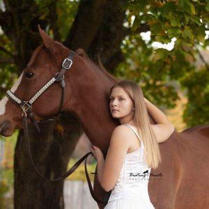 Senior Horse Photography - Turner Oregon