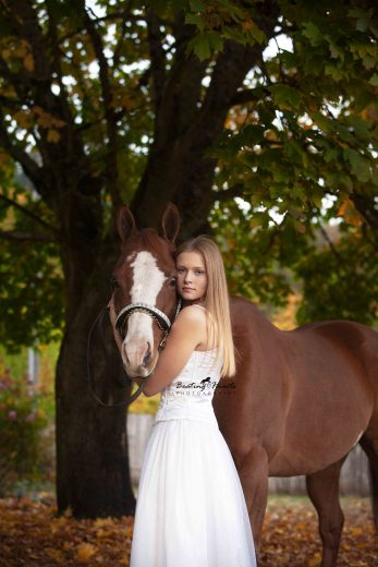 oregon senior horse portraits photography