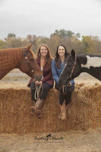 best friends, equine photography, horse photography, oregon, horse portraits, black backround horse pictures