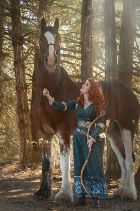 Merida Cosplay Stayton Oregon