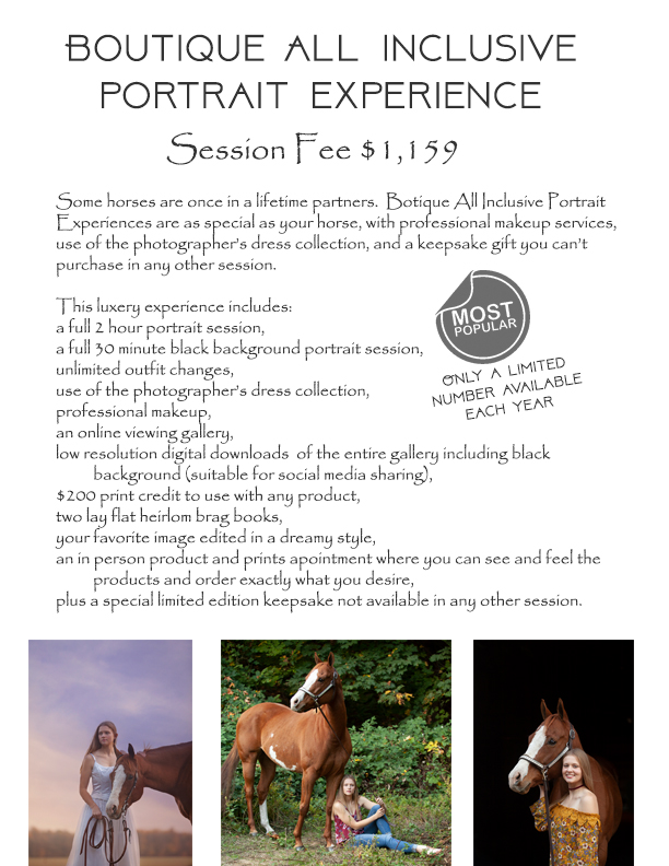 boutique all inclusive photography equine session oregon seniors horse photography