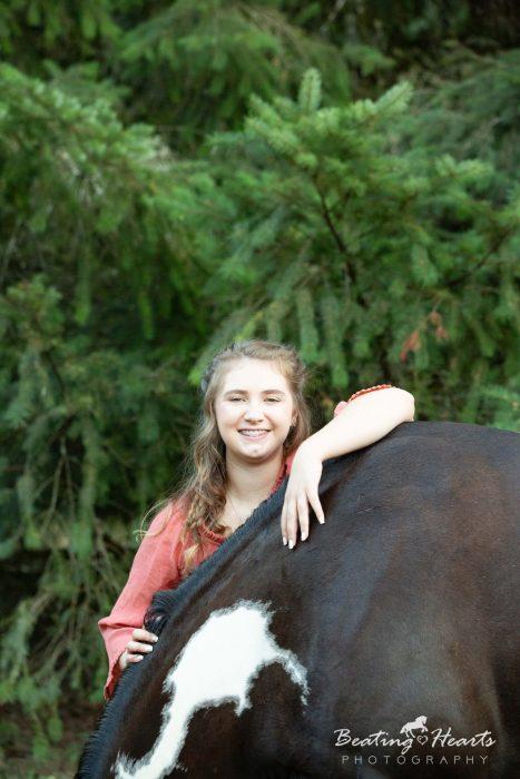 senior equine horse portraits silverton oregon