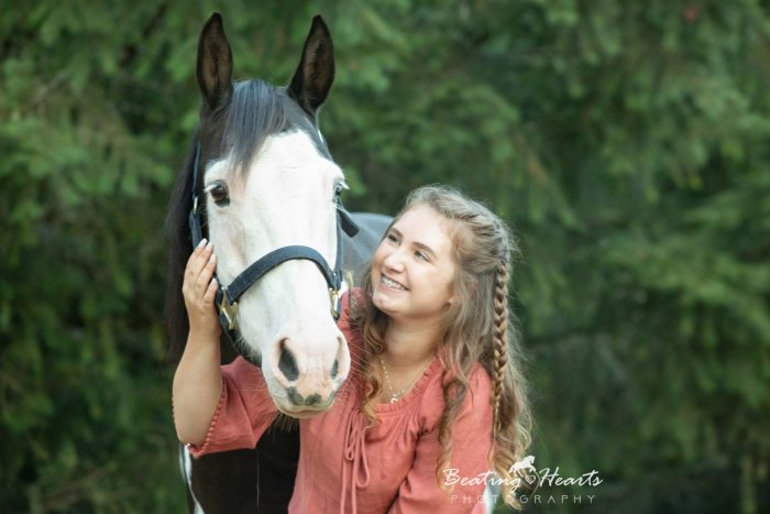 Emma and her three horses - Senior Equine Photo Shoot
